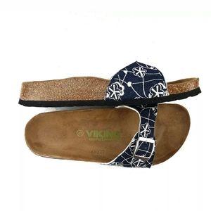 Viking Comfort Revolution Slide Sandal Denim Look